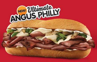 Arby's Ultimate Angus: Philly