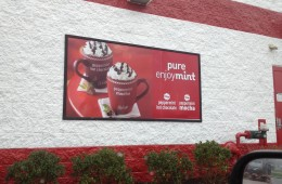 McDonald's McCafe: Peppermint Mocha and Peppermint Hot Chocolate