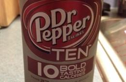 Dr. Pepper Ten Review