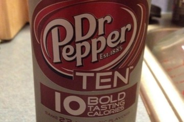 Dr. Pepper Ten Review