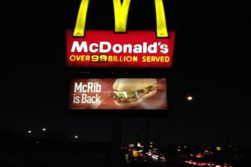 McDonald's McRib: A True McClassic