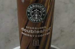 REVIEW: Starbuck's Doubleshot: Energy+Coffee Beverage