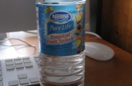 Beverage Review: Nestle Pure Life Tropical Fruit Splash