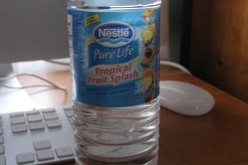 Beverage Review: Nestle Pure Life Tropical Fruit Splash