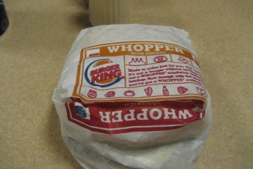 Update: Burger King Angry Whopper Attempt 1=Failure