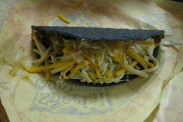 Black Taco: The Blackjack Taco from the Bell