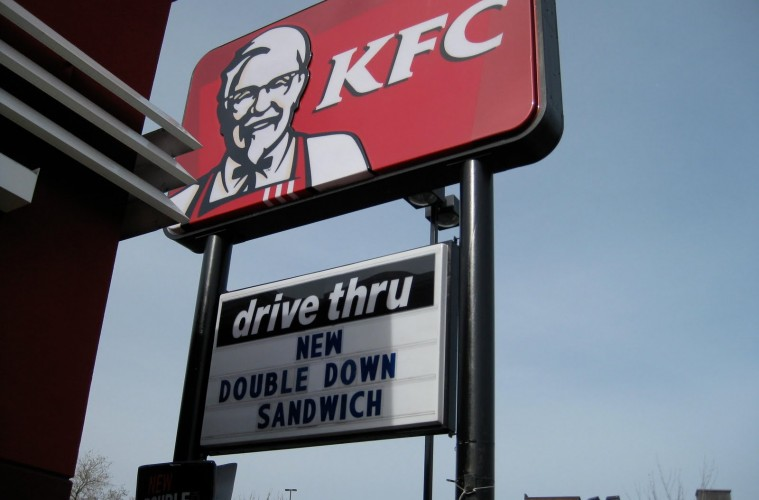 The KFC Double Down: It's Real!