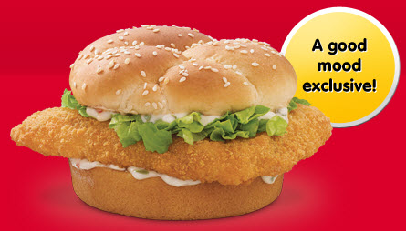 Arby 39 s fish sandwich review fast food geek for Arby s fish sandwich
