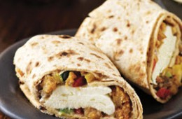 Starbucks Chicken Sausage Breakfast Wrap