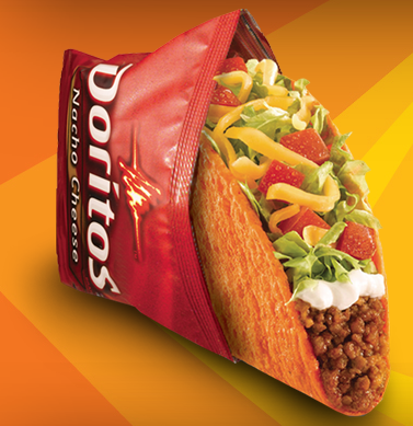 Taco bell doritos locos tacos review fast food geek for Taco bell fish tacos