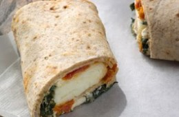 Spinach & Feta Breakfast Wrap