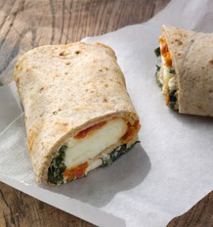 how to make a healthy breakfast wrap