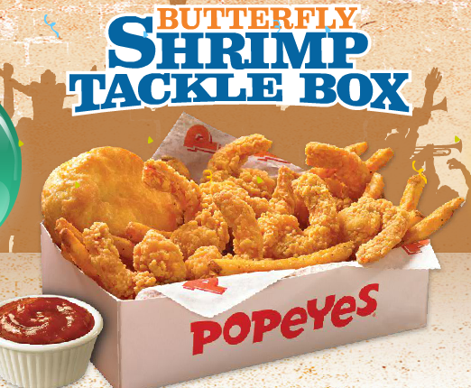 Popeyeu0027s Celebrates 40 Years with Return of Butterfly Shrimp Tackle Box [Report]  sc 1 st  Fast Food Geek & Popeyeu0027s Celebrates 40 Years with Return of Butterfly Shrimp ... Aboutintivar.Com