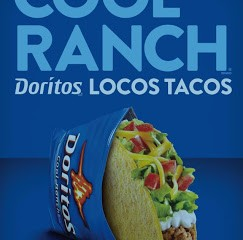 Cool Ranch Doritos Locos Tacos