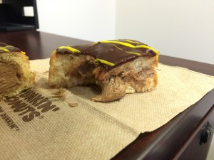 Dunkin Donuts Reese's Peanut Butter Square Review