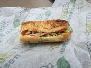 Subway Buffalo Chicken Crunch