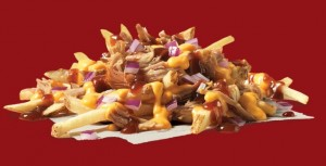 Wendys Pulled Pork Cheese Fries