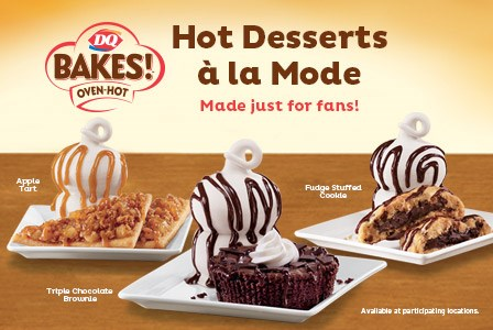 Dq bakes artisan style sandwiches arrive fast food geek for Cuisine a la mode