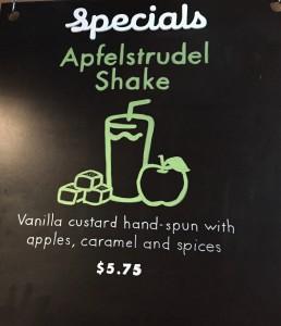 Shake Shack ShacktoberFest Apfelstrudel Shake