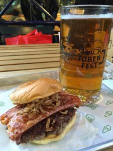 Shake Shack ShacktoberFest Bacon Cheddar Brat Burger