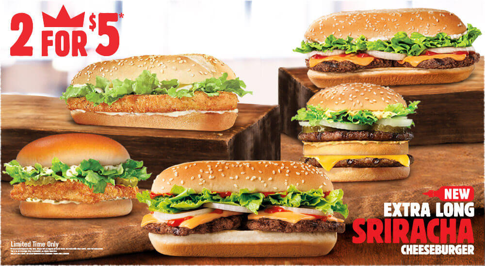 Burger king fish sandwich 2 for 5 for Burger king big fish