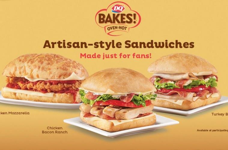 dq bakes sandwiches