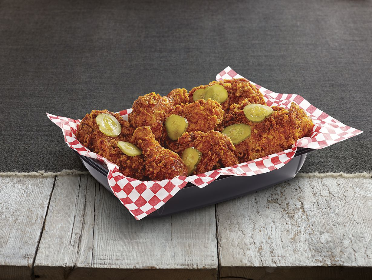 Kfc testing nashville hot chicken in pitt fast food geek for Pittsburgh fish and chicken