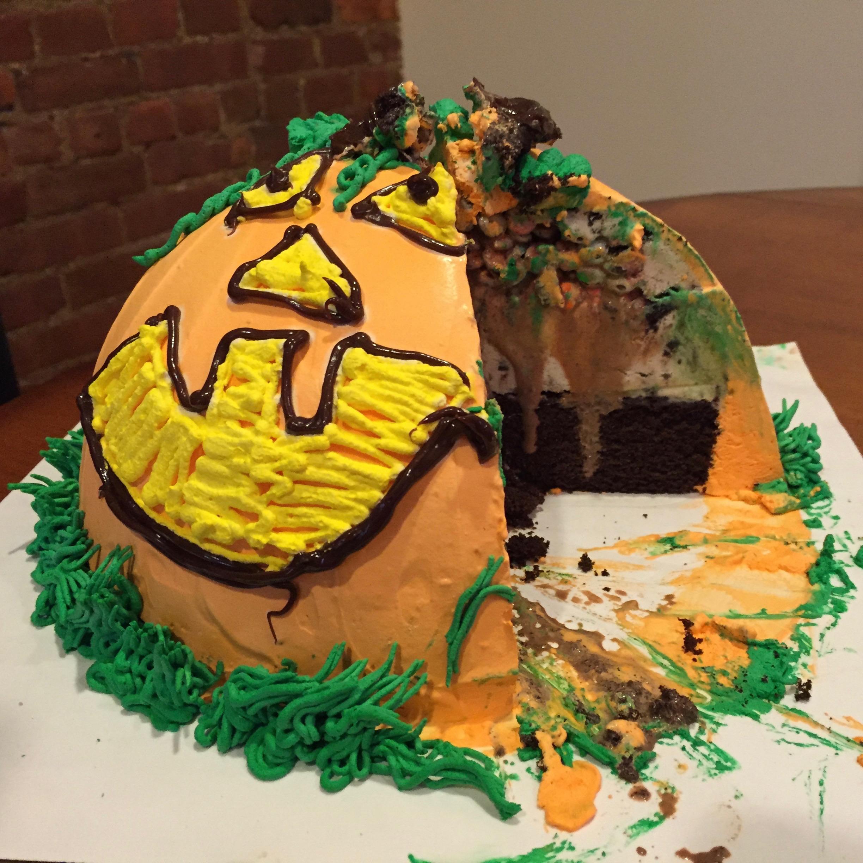 REVIEW Baskin Robbins Piata Cake Fast Food Geek
