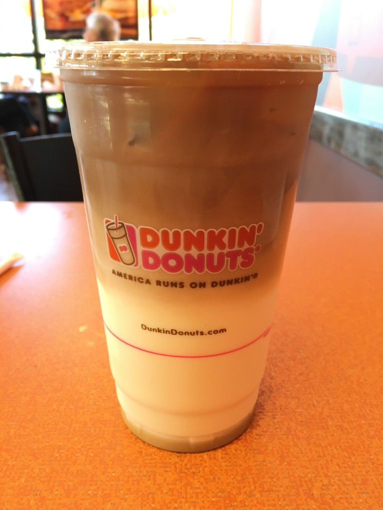 Dunkin Donuts Iced Snickerdoodle Macchiato Review Fast