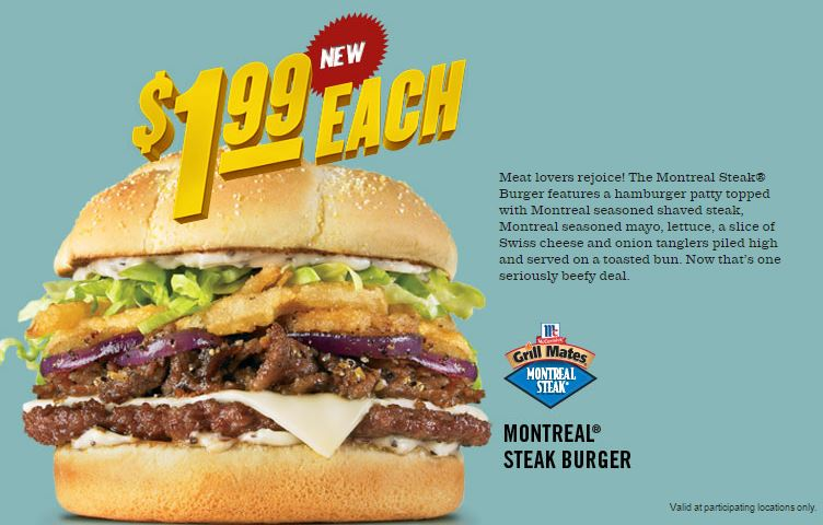 Checker 39 s now offering montreal steak burger fast for Checkers fish sandwich