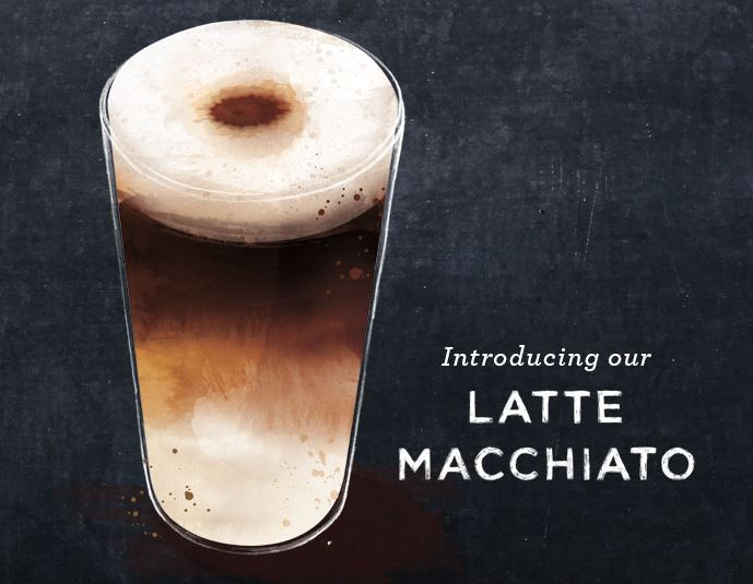 how to make a latte macchiato starbucks
