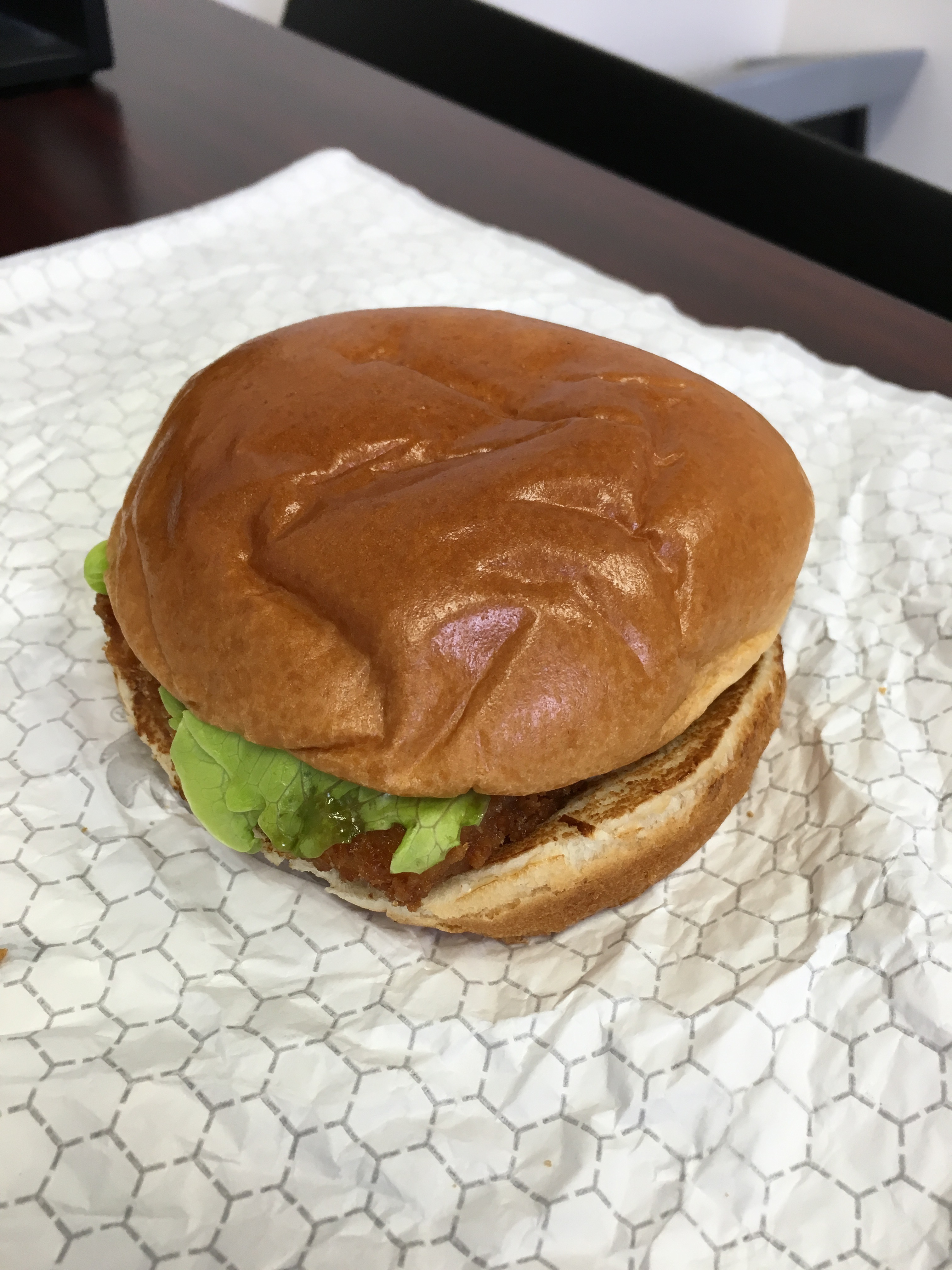 Wendy 39 s premium cod fillet sandwich review fast food geek for Wendy s fish sandwich