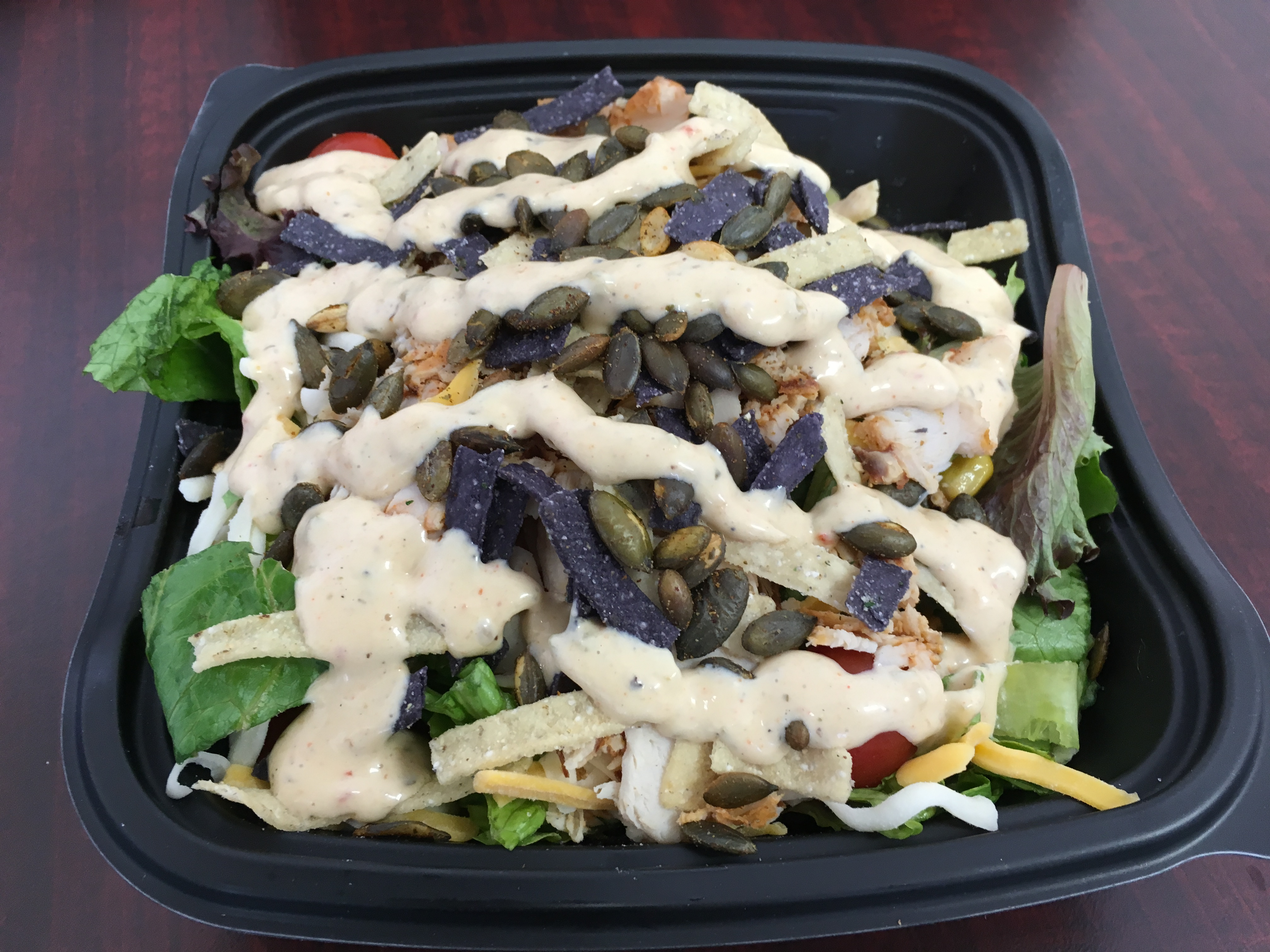 Chick Fil A Spicy Southwestern Salad [Review]Fast Food Geek