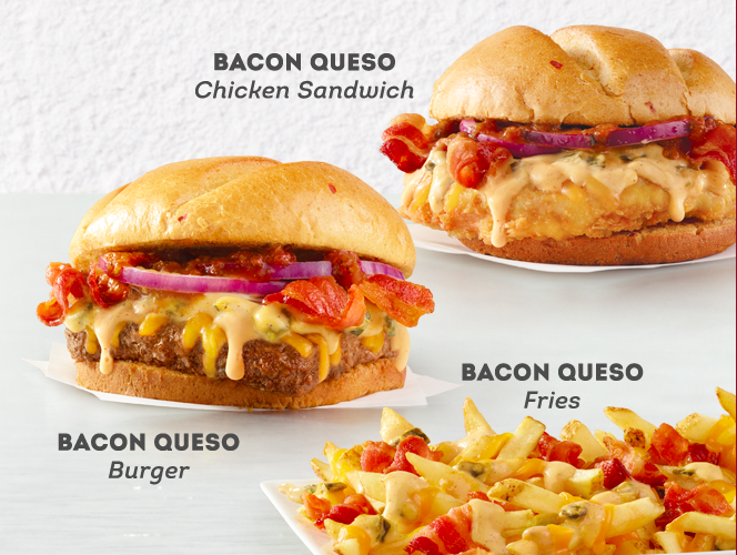Wendy 39 s newest line of products feature bacon queso fast for Wendy s fish sandwich