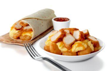 hash brown scramble burrito  bowl