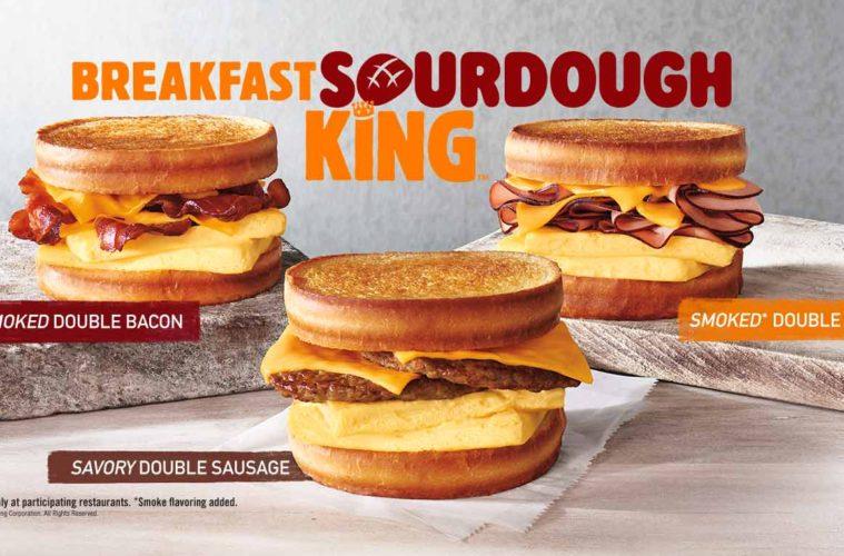 Burger King Brings Sourdough And Breakfast Sandwiches