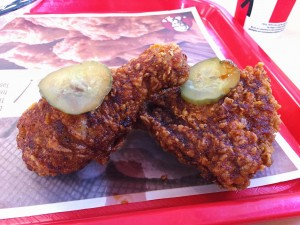 KFC Nashville Hot Chicken Review