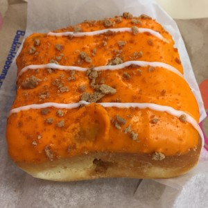 Pumpkin Cheesecake Square Donut