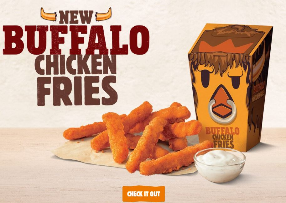 buffalo chicken fries