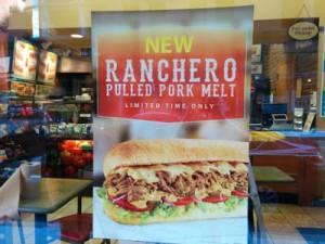 subway-ranchero-pulled-pork-melt