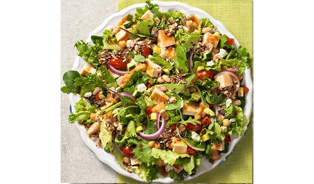 wendys power salad
