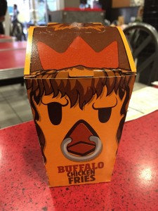 Burger King Buffalo Chicken Fries