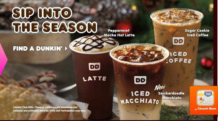 Dunkin Donuts Iced Snickerdoodle Macchiato Review Fast Food Geek
