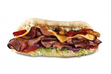 Arby's Fajita Steak Flatbread