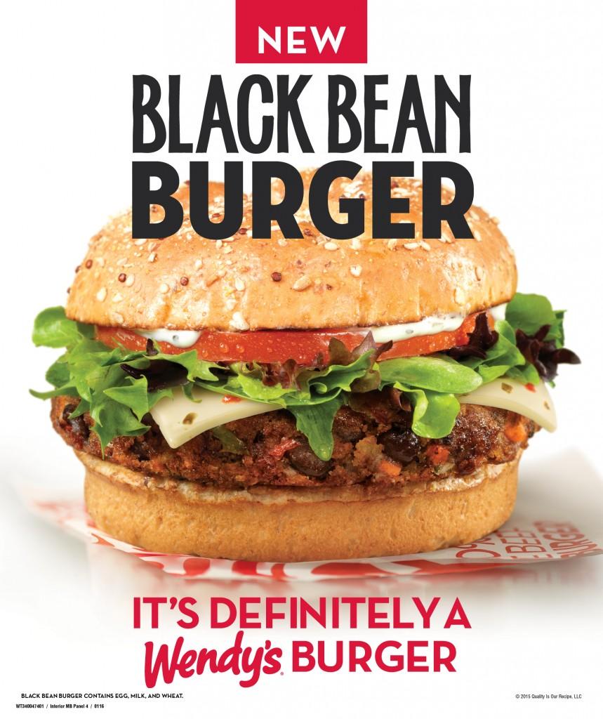 Black Bean Burger POP