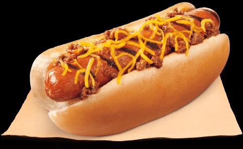 Burger King Chili Cheese Hot Dog Flame Grilled
