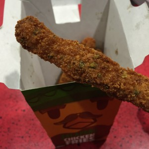 Burger King jalapeño Chicken Fries