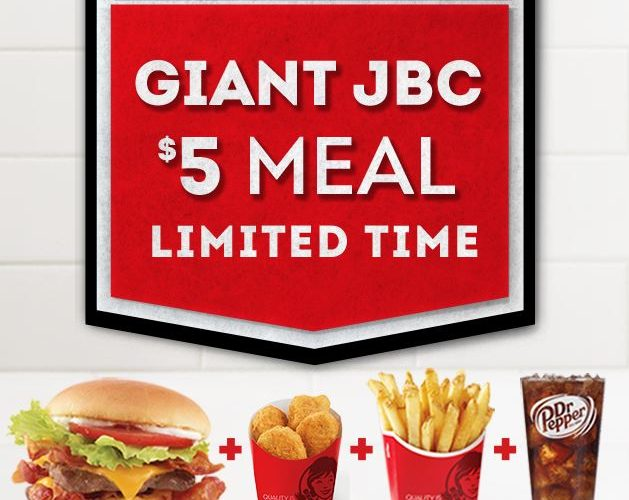 Wendy S Now Has A Giant Junior Bacon Cheeseburger Fast Food Geek